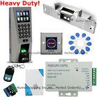 Fingerprint+RFID Card+Password Door Access Control System+Strike Lock+Remote