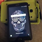 Samsung Galaxy Tab E SM-T377V 16GB, Wi-Fi + 4G (Att) - Black