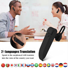 Intelligent 25Language Smart Instant Voice Translator Wireless BluetoothEarphone