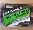 Powerfit 30 Amp to 30 Amp Outlet Adapter Generator to RV PF923055