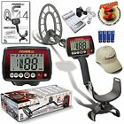 """Fisher F44 Metal Detector Bonus Package with 11"""" Coil and 5 Year Warranty"""