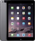 Apple iPad Air 2 128GB, Wi-Fi + Cellular (Unlocked), 9.7in - Space Gray