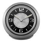 Bulova Lite Night Bedside Alarm Clock, Silver