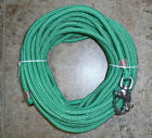"3/8"" x 115 ft. Kelly Green Dac/Polyester Halyard, Spliced in S/S Snap Shackle"
