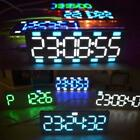 6PCS LED Digital Electronic Alarm Clock DIY Time Kit Light Temperature Tool JS