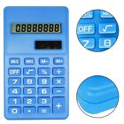 Mini Pocket 8 Digits Calculator LCD Display Silicone Button Battery Operated