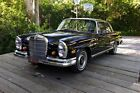 "1967 Mercedes-Benz 200-Series Leather 1967 250se ""Opera"" Coupe Amazing original condmCalifornia Car Orig black & red"