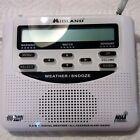 Midland WR-120 NOAA Weather Alert Radio NEW! Also Alarm Clock!