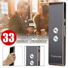 Easy Smart Multi-Language Translator Instant Voice Speech Bluetooth 33 Languages