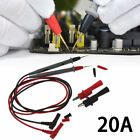 Hot 20A Silicone Digital Multimeter Multi Meter Test Lead Probe Wire Pen Cable