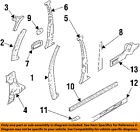 Acura HONDA OEM 96-98 SLX Center Pillar-Seal Left 8971560020