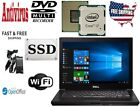 Dell Latitude Laptop Windows 10 Pro i7 SSD  NVIDIA DVD+/RW Office Antivirus