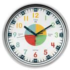 Teaching Clock with Silent Movement | Educational Clock that Makes Kids Learning
