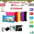 🔥?Quad Core 7Inch Kid Tablet PC Android 8.1 Dual Camera HD WiFi 8GB Bundle Case