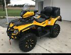 2012 Can Am Outlander Max XT 650  2 Up with Snow Plow