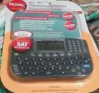 Royal Thesaurus Dictionary Translator Speller RP6S NEW Sealed Portable Travel