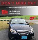 2012 Chrysler 200 Series  2012 Chrysler 200 Touring Sedan