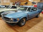 1970 Mustang -- 1970 Ford Mustang Boss 302 - Rare W Code Axle, Factory Oil Cooler