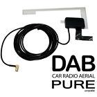 Car radio DAB Aerial PURE Highway 300Di Glass mount digital patch antenna SMB