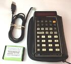 Hewlett Packard HP-45 Calculator, 2000maH Ni-MH, USB charger, and Vinyl Case
