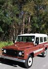 1883 Land Rover Defender  land rover defender 110 county station wagon,1983,rhd gas.11 seat,one lady owner