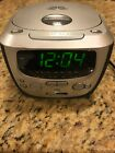 Magnavox Compact Disc Clock Radio Stereo CD Player