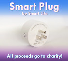 Amazon Alexa & Google Home Smart Plug - WiFi Enabled - White - Free Ship