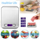 Digital Kitchen Scale Multifunction Food Scale w/ LCD Display for Baking Cooking