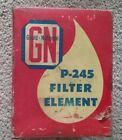 Vintage Truck Oil Filter Gould-National P-245 Ford Rat Rod V8 Automobile Decor