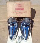 NOS 1963 Ford Galaxie 500 FRONT BUMPER GUARD KIT Original Accessory pair XL
