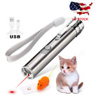 USB 3 Mode Laser Pointer For Cats Interactive Dog Toy Pet Training Exercise Tool