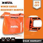 X-BULL Safety Blanket Winch Damper Cable Cushion Recovery Orange 4WD