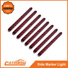 "8PC 15"" 11 LED Red Sealed Trailer Truck&RV Stop Tail Rear Brake Turn Light Bar"