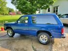 1984 Chevrolet S-10 Tahoe 84 Chevy S10 Blazer 2wd V8 conversion. Low reserve!