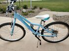 """Giant Liv Areva 24"""" 7 Speed Blue Kid's Children's Girls Mountain Bike"""