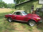1980 Fiat 124 Spider Pininfarina Project Or Parts Car - Bill of Sale Only