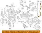 MERCEDES OEM 15-16 E400 3.0L-V6 Engine Oil Level-Dipstick Tube 2760109810