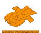 MERCEDES OEM 17-18 E400 3.0L-V6 Engine Appearance Cover-Engine Cover 2760107506