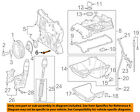 MERCEDES OEM 12-15 C250 1.8L-L4 Engine-Timing Cover Bolt 000000001810