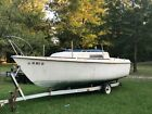 23' Kells Sailboat with pop up Top and Trailer