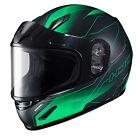 HJC 243-742 CL-Y Taze Snow Helmet Sm Semi Flat Green