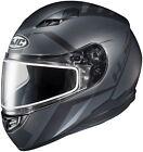 HJC 1156-1735-06 CS-R3 Faren Snow Helmet LRG Semi Flat Black