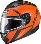 HJC 1156-1737-08 CS-R3 Faren Snow Helmet XXL Semi Flat Orange