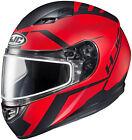HJC 1156-1731-07 CS-R3 Faren Snow Helmet XLG Semi Flat Red