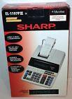 (NEW) Sharp EL-1197PIII Electronic Printing Calculator Heavy Duty Ribbon Printer