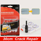 Auto Window Glass Windshield Tool Kit Long Crack Sealer DIY Assembly Repair Set