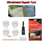 Ca Windshield Repair Tool DIY Wind Glass For Chip & Crack Windscreen Fixing Set