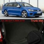 Nylon Fabric Washable Car Trunk Cargo Liner Carpet Mats For VW Golf R 2006-2016