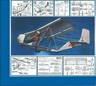 DRAWINGS of the GLIDER, BRO-11М ,Plans.