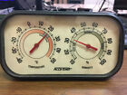 Vintage Accu Temp Thermometer with Humidity